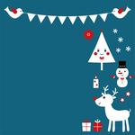 Tarjetas electrónicas de Navidad 286